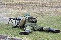 Демонстрация стрельбы из пулеметов ПКП Печенег - 4-й гвардейской Кантемировской танковой дивизии 04.jpg