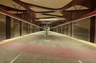 European Union Metro Station Sоfia metro station