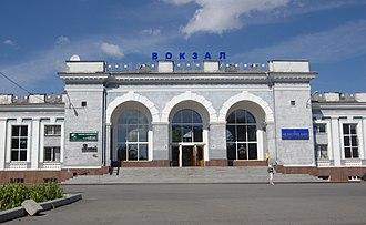Kropyvnytskyi - Kropyvnytskyi railway station