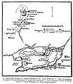 Карта к статье «Лисса» № 2. Военная энциклопедия Сытина (Санкт-Петербург, 1911-1915).jpg