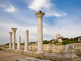 Ruins of ancient Greek colony of Chersonesos Natsional'nii zapovidnik <<Khersones Tavriis'kii>> 2.jpg