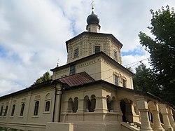 Никольская церковь Свято-Тихоновского женского монастыря в городе Торопец.JPG