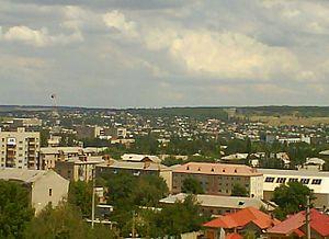 Bakhmut - Bakhmut skyline