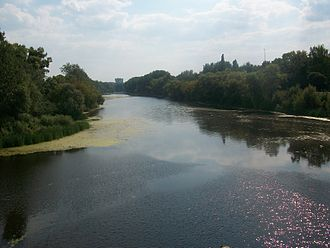 Sumy - Psel river in Sumy