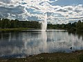 Россия, Карелия, Петрозаводск, Зарека, река Лососинка, фонтан, 17-55 13.06.2008 - panoramio.jpg