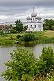 Собор Преображения Господня в Белозерске (1668-1670-е) фото с валов.jpg