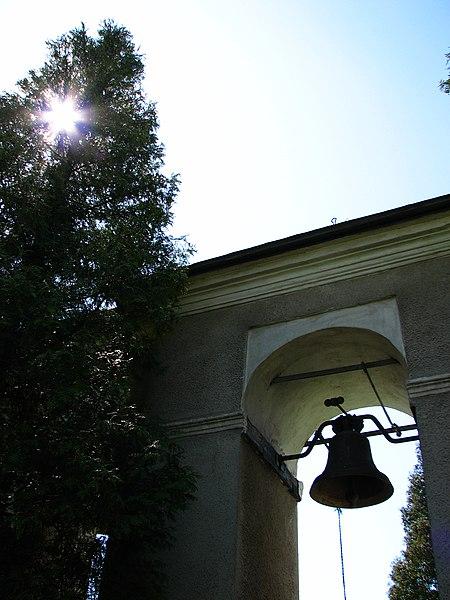 File:Храм святого великомученика Дмитрія УГКЦ. Дзвіниця. - panoramio.jpg