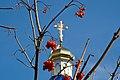 Церква святого Онуфрія. Купол з хрестом.jpg