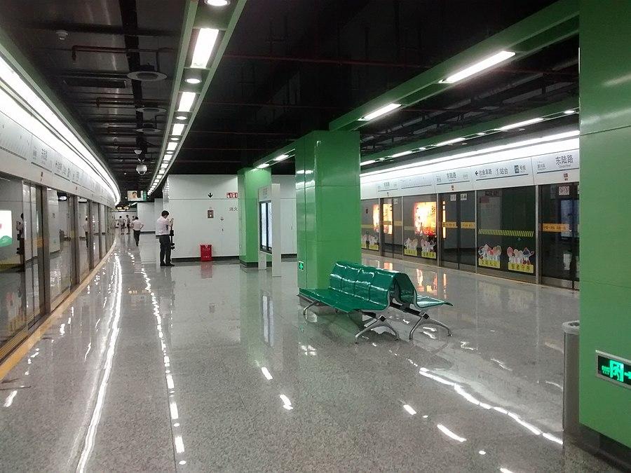 Donglu Road station