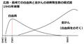 広島・長崎の白血病と全がんの過剰発生模式図.png