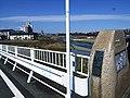 湯殿川に架かる長沼橋を渡って浅川へ。 - panoramio.jpg