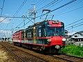 石山坂本線600系「坂本ケーブル」ラッピング電車。.jpg