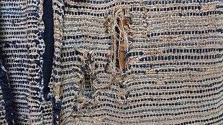Vintage Japanese kimono fabric Indigo kanoko shibori cotton yukata fabric