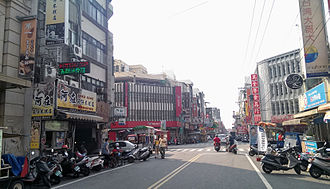 Dajia District - Image: 蔣公路