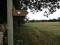-2020-08-23 Sign post, Weavers' Way footpath, Sustead (2).JPG