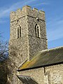 -2021-02-04 Bell tower, Saint Martin's parish church, Overstrand, Norfolk (2).JPG