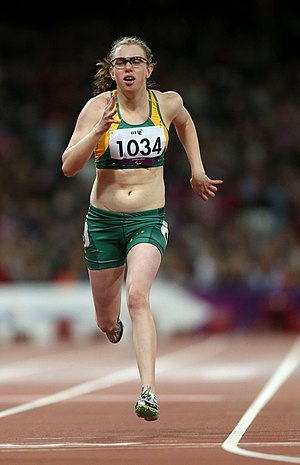 Erinn Walters - Walters at the 2012 London Paralympics