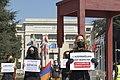02 Protesters in Geneva demand the release of Armenian POWs, 15 April 2021.jpg