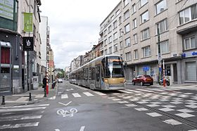 Image illustrative de l'article Ligne 7 du tram de Bruxelles