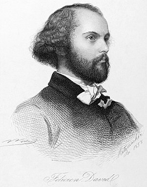 Félicien David - Félicien David in 1858