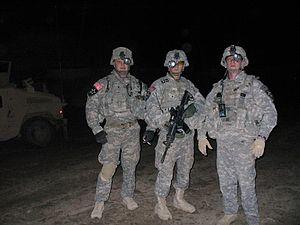 Operation Murfreesboro - U.S. Army soldiers during Operation Murfreesboro.