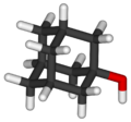 1-adamantanol-3D-sticks.png