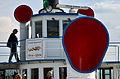 100 Jahre Dampfschiff 'Stadt Rapperswil' - Tag der offenen Dampfschiff-Türe am Bürkliplatz - Brücke - Oberdeck 2014-04-25 14-39-30.JPG