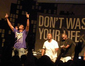 116 Clique - 116 Clique on the Don't Waste Your Life Tour (2009)