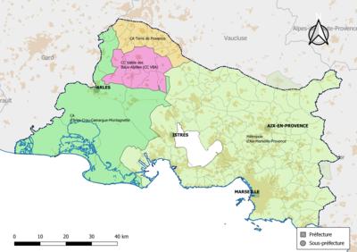 Liste Des Intercommunalités Des Bouches Du Rhône Wikipédia