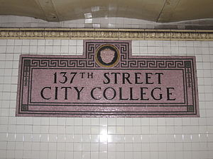 137th Street–City College (IRT Broadway–Seventh Avenue Line)