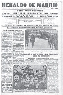 Image result for elecciones españa febrero 1931