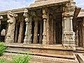 15th-16th century Vaishnavism Achyutaraya Tiruvengalanatha temple, Hampi Hindu monuments Karnataka.jpg