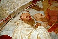 1725 - Milano - Abbazia di Chiaravalle - Gaudenzio Ferrari, Madonna onorata da cistercensi (dett.) - Foto Giovanni Dall'Orto, 31-Oct-2009.jpg