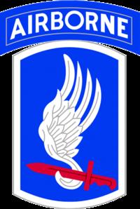 173Airborne Brigade Shoulder Patch