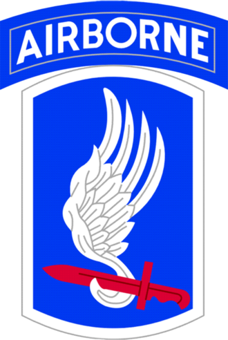 Lawrence Joel - Image: 173Airborne Brigade Shoulder Patch