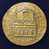Gregory III - 8th Century Pope Medal - lapel
