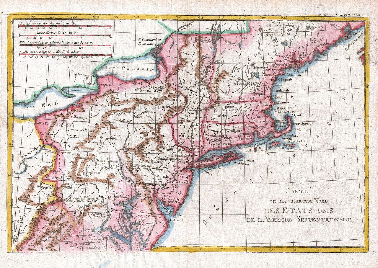File 1780 Raynal And Bonne Map Of Northern United States