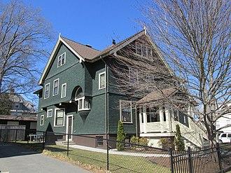 Albert H. Humes - Eugene A. Burnham House, Pawtucket, RI. 1902.