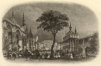 Music hall - The Eagle Tavern in 1830