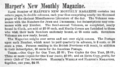1859 Harpers New Monthly Magazine description in Harper & Brothers List of Publications.png