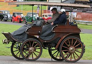 Arrol-Johnston - 1902 dog cart which remains in the ownership of the family of the original purchaser