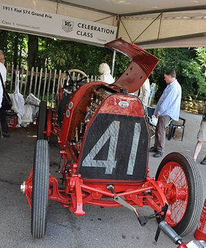 Fiat S74 - Fiat S74 at Goodwood Festival of Speed