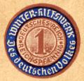 1935-01-24 Bankhaus D. Peretz Hannover Briefkuvert an S. Bleichröder Berlin, Revers mit Siegelmarke 1 Reichspfennig Winterhilfswerk Deutsches Reich (2).png