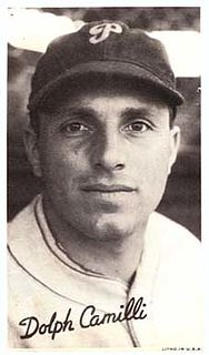 Dolph Camilli American baseball player