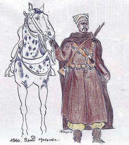 uniforme tirailleur marocain