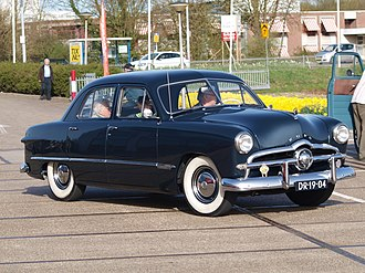 1949 Ford - 1949 Ford Custom Four door Sedan