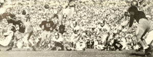 1955 Sugar Bowl - Image: 1953 Navy vs. Cornell game