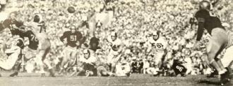 1955 Sugar Bowl - Image: 1953 Navy vs. Cornell game