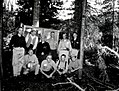 1959. Northwest Forest Pest Action Council, balsam woolly adelgid (Chermes) comittee field meeting. Blair Meadows, Willamette National Forest, Oregon. (34777986100).jpg