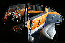 1960 Jaguar MK IX interior by night.JPG
